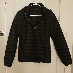 32Degrees down-filled puffer jacket, Black, S